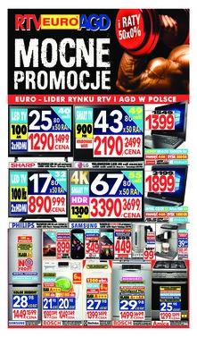 RTV EURO AGD - Mocne promocje i raty 50 x 0%