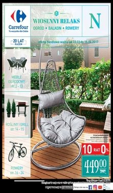Carrefour Wiosenny relaks - ogród, balkon, rowery