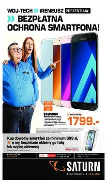 Saturn WOJ-TECH iRENEUSZ prezentują: bezpłatna ochrona smartfona!