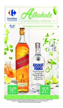 Carrefour - Alkohole w wiosennej oprawie