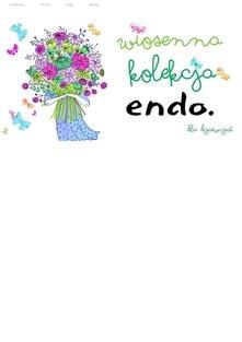 Endo - wiosenna kolekcja dla dziewcząt