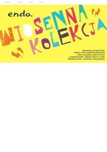Katalog Endo kolekcja wiosenna