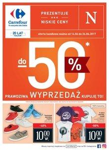 Carrefour - Prawdziwa wyprzedaż do -50%