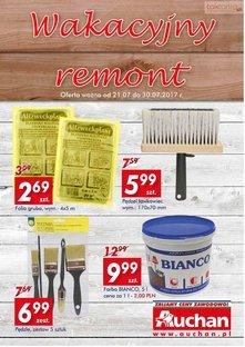 Auchan Direct - Wakacyjny remont!