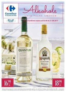Carrefour gazetka promocyjna - Alkohole!