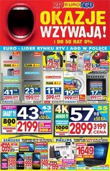 RTV EURO AGD - gazetka promocyjna!