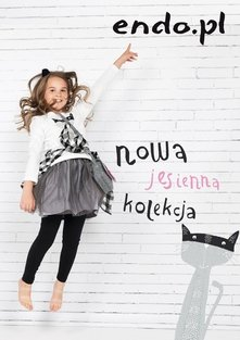Endo katalog dla dziewczynek nowa jesienna kolekcja
