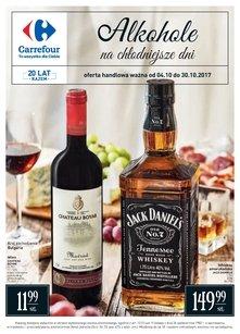 Carrefour gazetka promocyjna - Alkohole na chłodniejsze dni!
