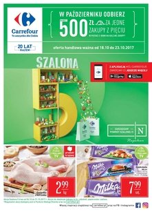 Carrefour gazetka promocyjna - Szalona 5!