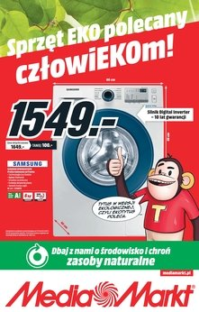 Media Markt - Sprzęt eco polecany człowiekom!