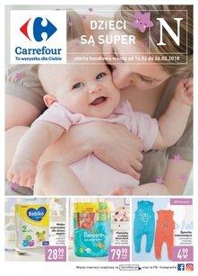 Carrefour gazetka promocyjna- Dzieci są super!