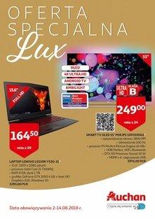 Oferta specjalna Auchan Lux