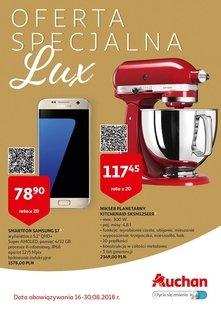 Auchan hipermarkety oferta Lux