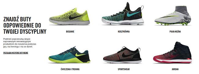 Nike promocje