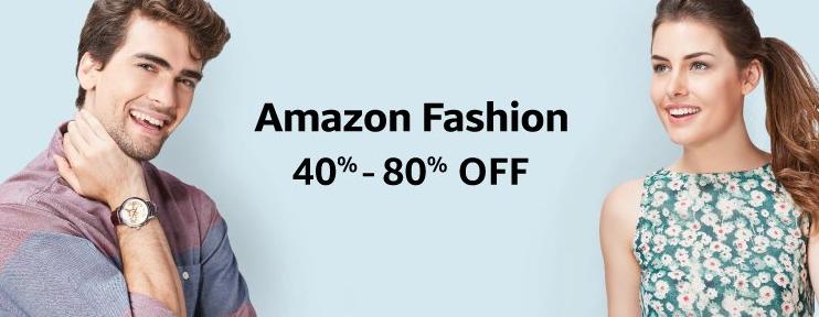 Amazon 40-80% Fash