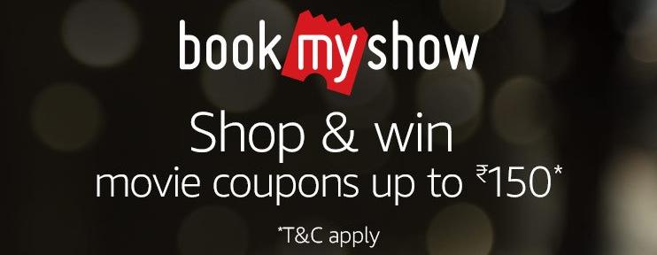 Amazon + BookMyShow