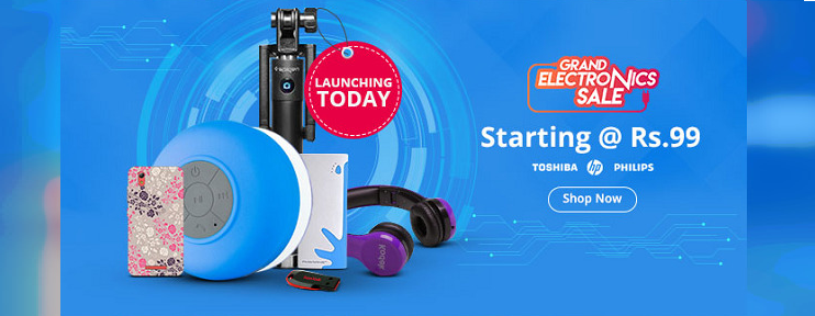 Shopclues Electronic Sale