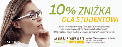 Andrzej Piwowarczyk Optyk Studio kod rabatowy