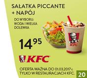 KFC kody i kupony promocyjne
