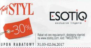 Esotiq kody i kupony promocyjne