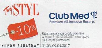 Club Med kody i kupony promocyjne