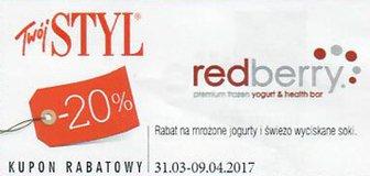 redberry kody i kupony promocyjne