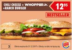 Burger King kupon promocyjny
