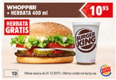 Burger King kod promocyjny