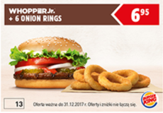 Burger King kod rabatowy