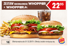 Burger King kupon rabatowy
