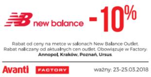 New Balance kupon promocyjny