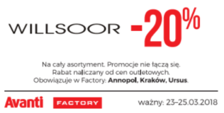 Willsoor-shop.pl kody i kupony promocyjne