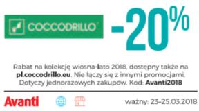 Coccodrillo kody i kupony promocyjne