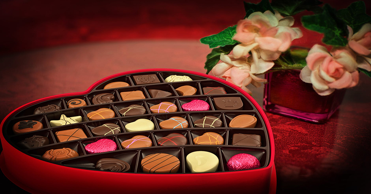 Prezent na Dzień Matki czekoladki