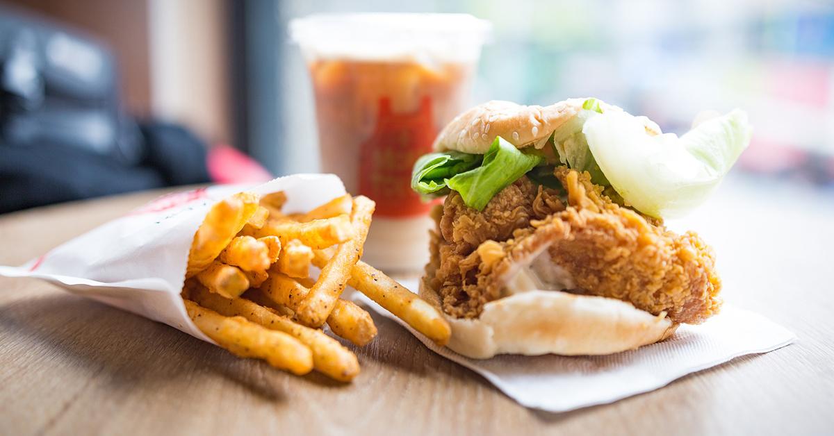 burger z frytkami na mundial 2018