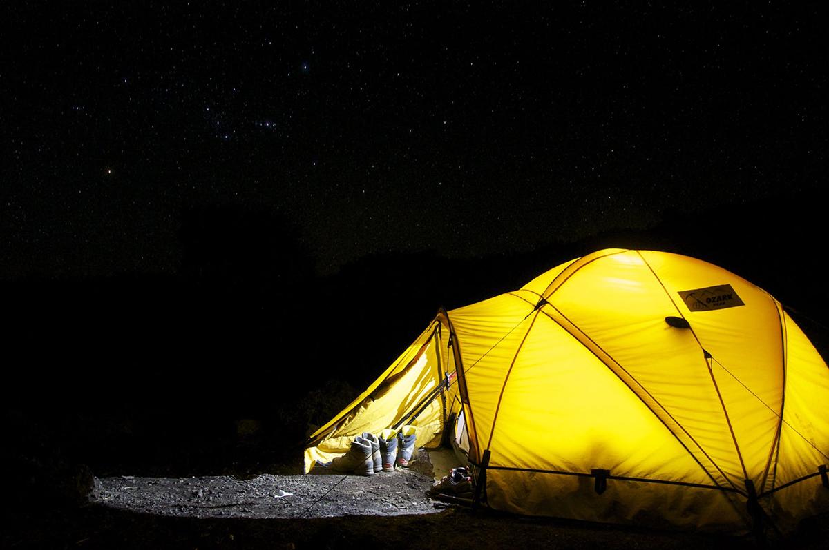 jak wybrac najlepszy namiot campingowy