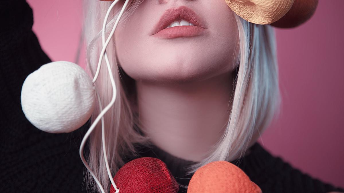 makijaż ust na jesień