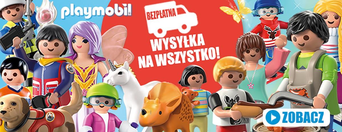 Darmowa dostawa Playmobil