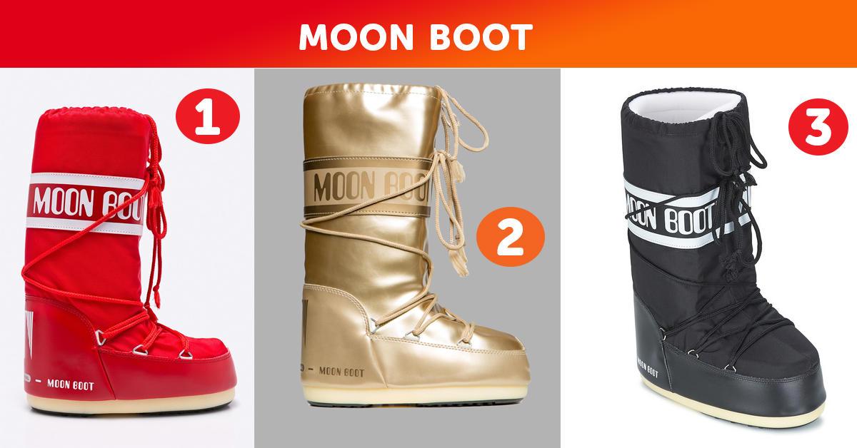 Śniegowce zimowe Moon Boots