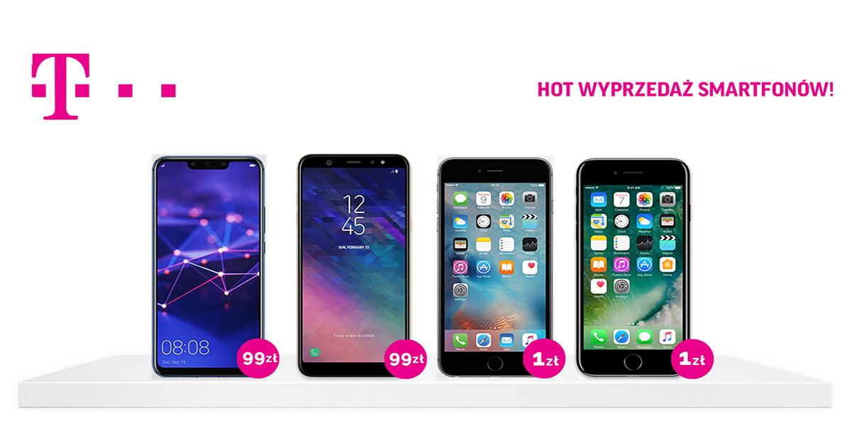 iphone za 1 zł - wyprzedaż w T-mobile