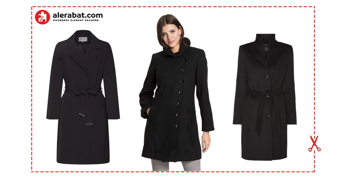Płaszcz na wiosnę czarny