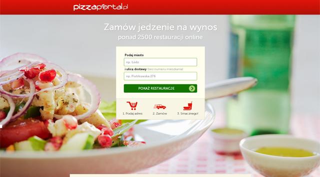PizzaPortal.pl strona główna - zrzut ekranu